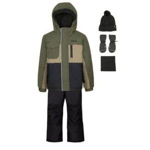 Gusti Boy's 3-Piece Snowsuit Set